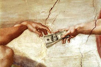 dinero religion
