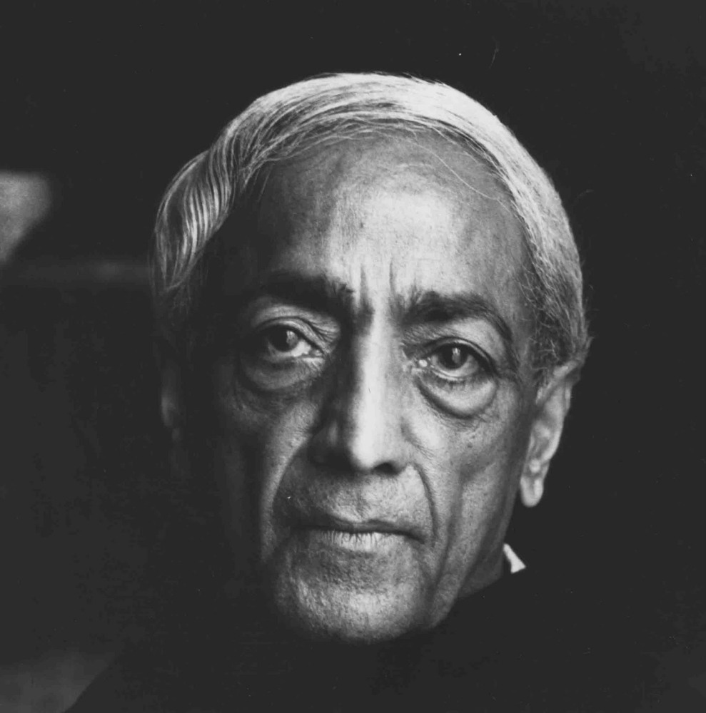 Jiddu Krishnamurti (1/2)