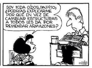 Mafalda estructuras
