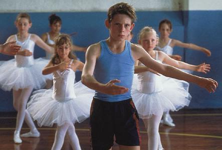 Escena de la película Billy Elliot