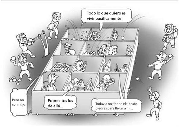 Tomado de: http://www.cidhu.info/tjcl/el-individualismo-no-nos-deja-ver-que-juntos-podriamos-resolver-la-crisis/