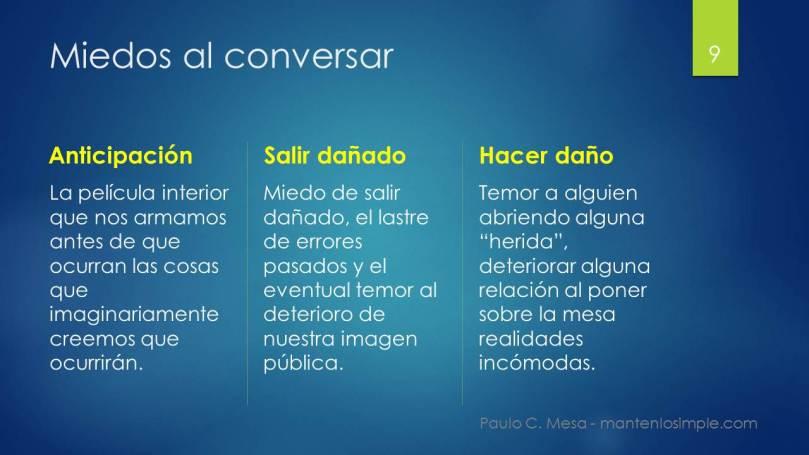 Miedos-conversar