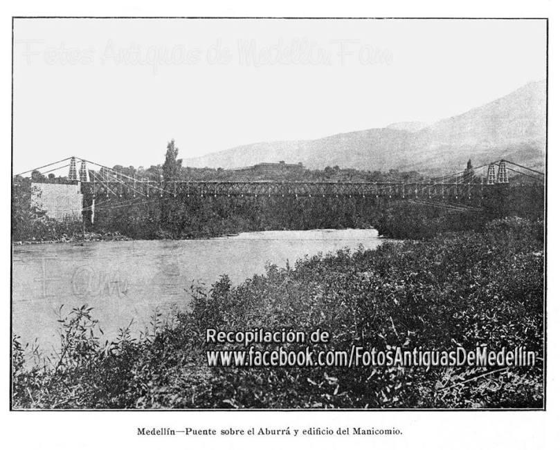 Río Medellín, 1912