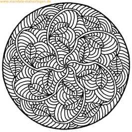 Mandala zum ausmalen
